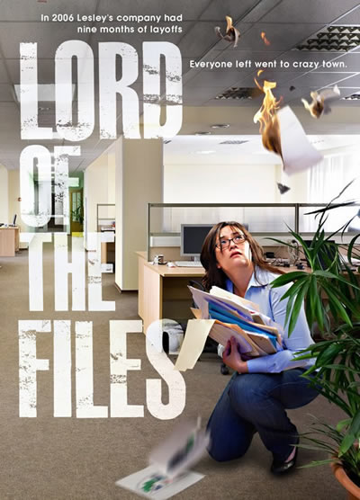Lord of the Files poster