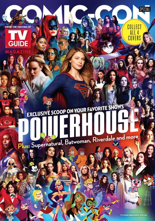 New TV Guide Cover | Lesley Tsina