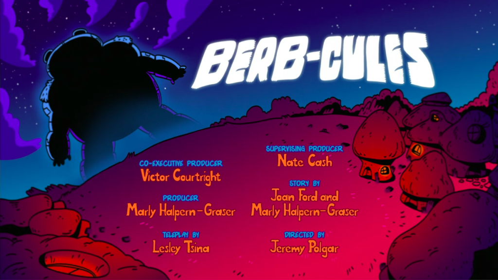 Berb-cues title card
